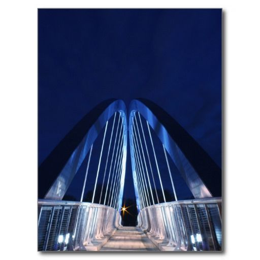 USA - Iowa - Des Moines - Blue Bridge