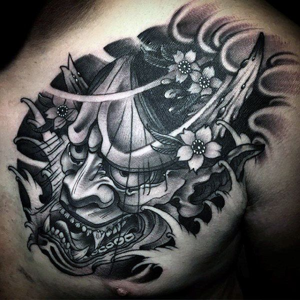 Top 103 Hannya Mask Tattoo Ideas 2020 Inspiration Guide Hannya Mask Tattoo Mask Tattoo Japanese Mask Tattoo