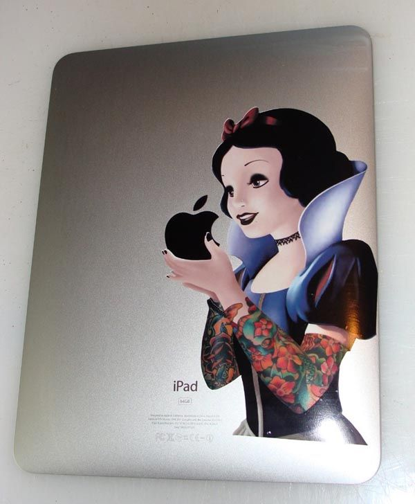 Tattooed Snow White iPad Decal
