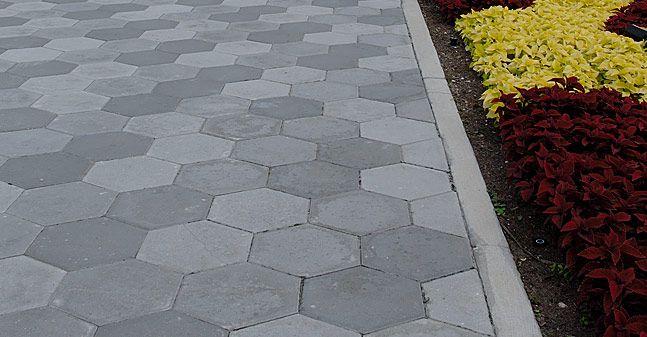 Hexagon Pavers Tremron Brick Paver Manufacturer Jacksonville Miami Arcadia Lakeland Orlando Tampa F Piso Para Patio Piso De Ladrillo Pavimento Exterior