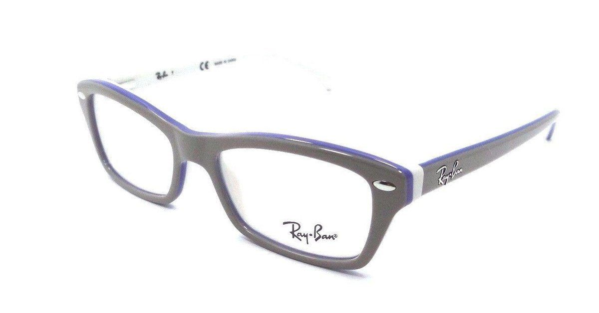 New Authentic Ray Ban Jr Rx Eyeglasses Frames 1550 3658 46x15 Grey ...