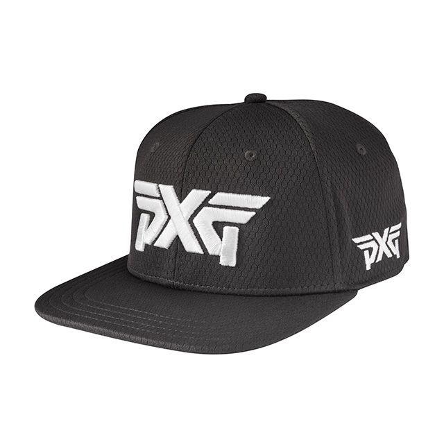 Buy PXG Fitted ProHex Flat Bill Hat at PXG.com This fitted hat features a  flat bill that will take your style statement to the next level. 811edc4ece7