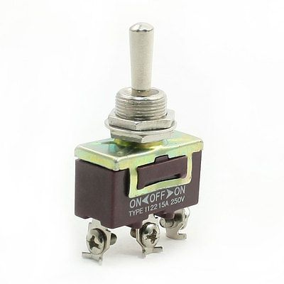 $4.28 (Buy here: http://appdeal.ru/8bd7 ) AC 250V 15A SPDT 3 Pin ON/OFF/ON 3 Positions Miniature Toggle Switch for just $4.28