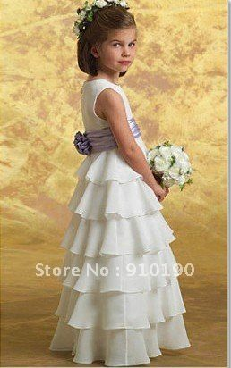 a3e9a4564e376 Free Shipping SEWING PATTERN! MAKES FANCY FLOWER GIRL DRESS! CHILD ...