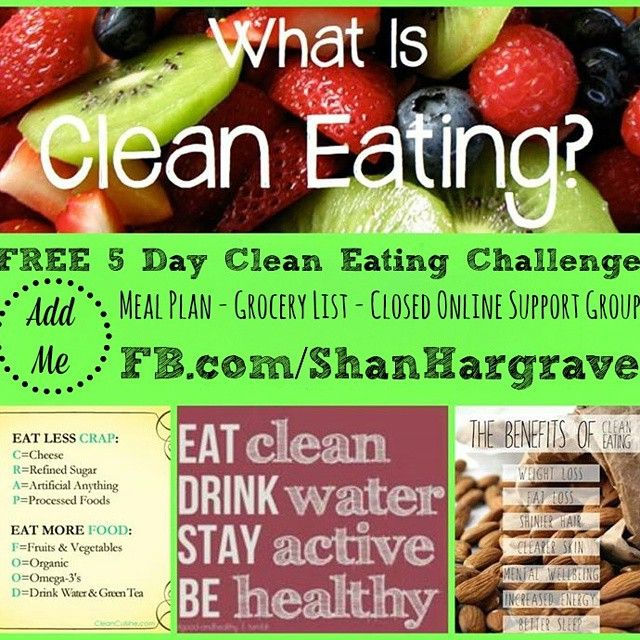 who wants a spot in my free clean eating challenge free week of