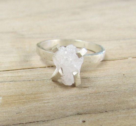 https://www.etsy.com/listing/122824667/prong-set-ring-rustic-silver-gemstone