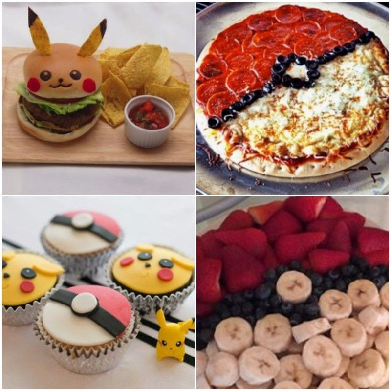 comida para cumpleanos de pokemon go
