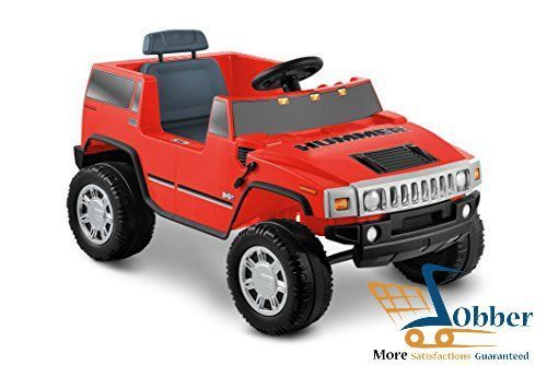 Kid Motorz Ride On Toys 6v Hummer H2 Red Electric Power Wheels Suv Best Gift