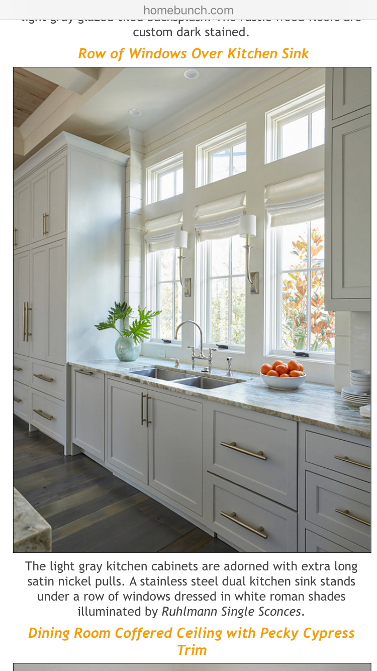 Explore Gray Kitchen Cabinets Gray Kitchens and