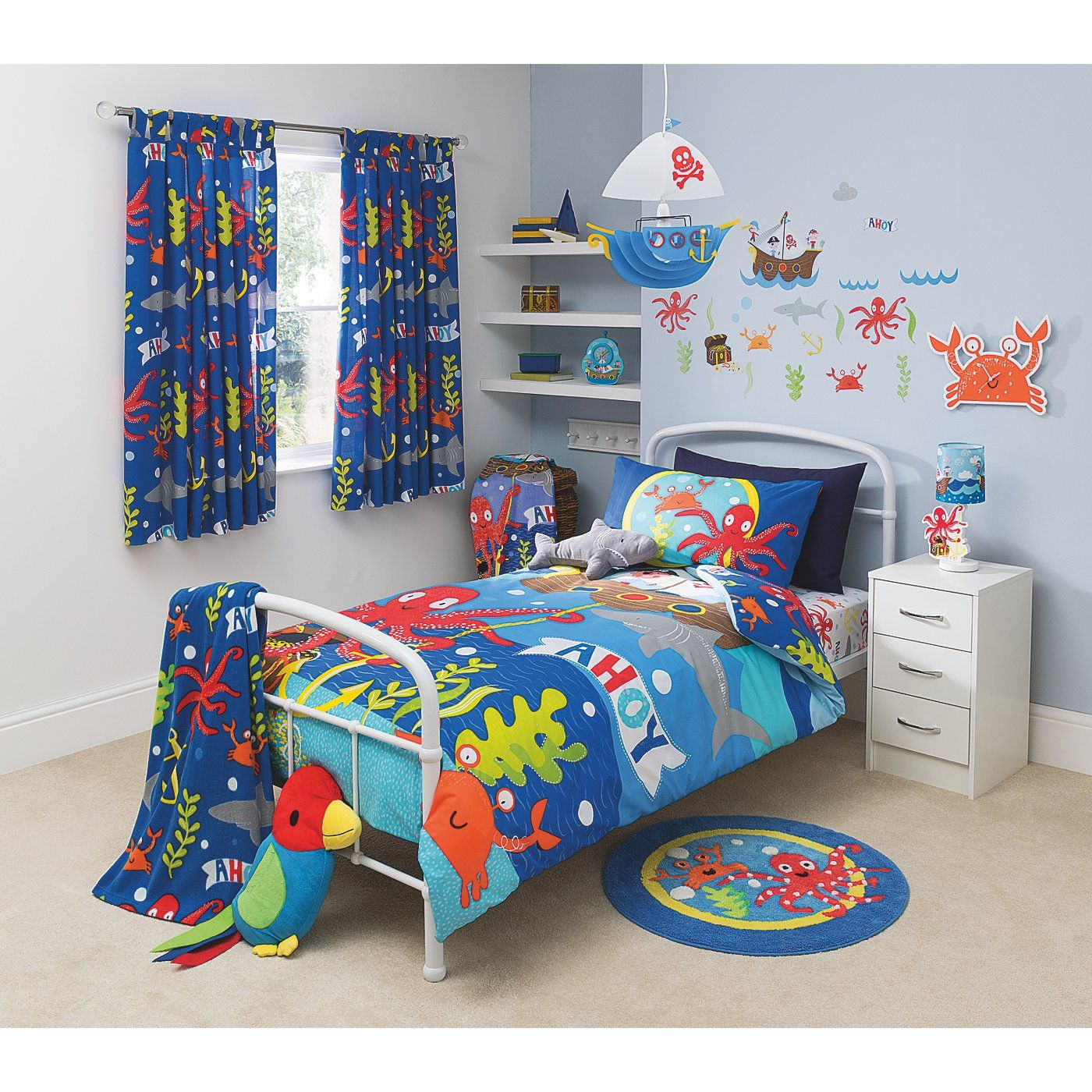 Buy George Home Pirate Bedroom Set From Our Bedding Range Today - Kids pirate bedroom furniture
