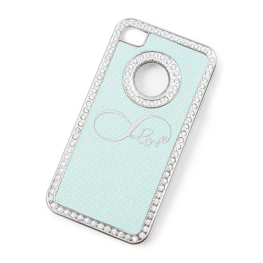 Infinity love glitter iphone 4 and 4s cover claires tech infinity love glitter iphone 4 and 4s cover claires altavistaventures Images