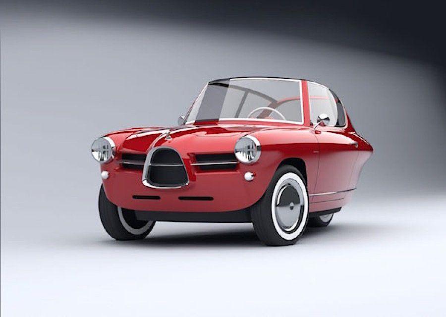 Der Nobe 100 ist ein Elektroauto mit Retro-Charme | Cars
