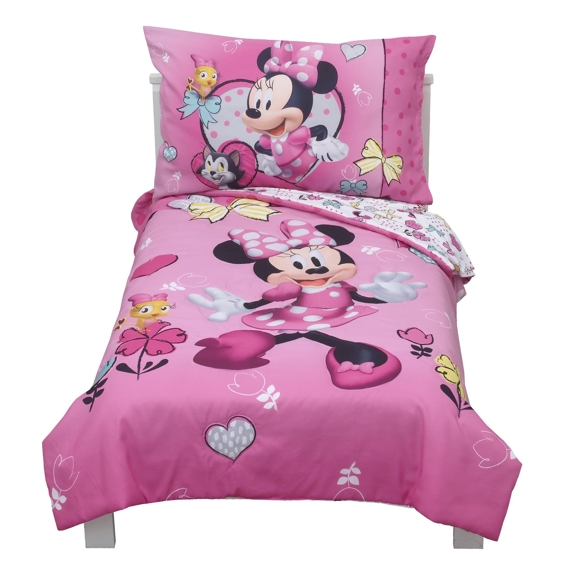 Mickey Mouse Friends Minnie Mouse Toddler 4pc Bedding Sets