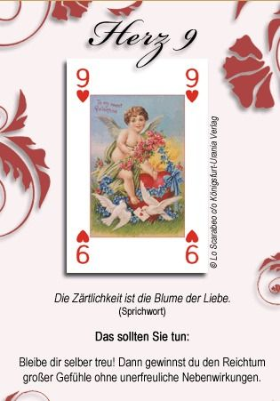 Free Tarot reading-love Oracle in German | Divination | Tarot
