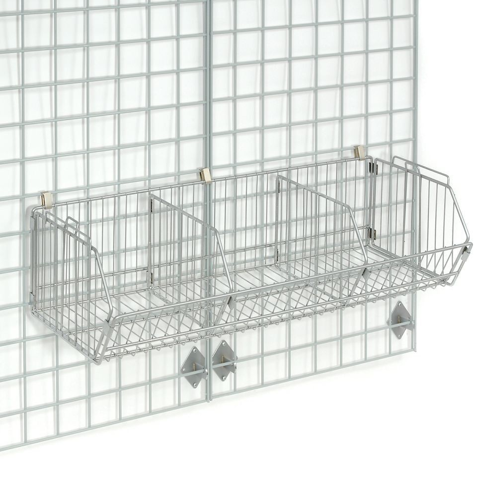 Wire wall shelving wire shelving pinterest wall mounted wire wire wall shelving amipublicfo Gallery