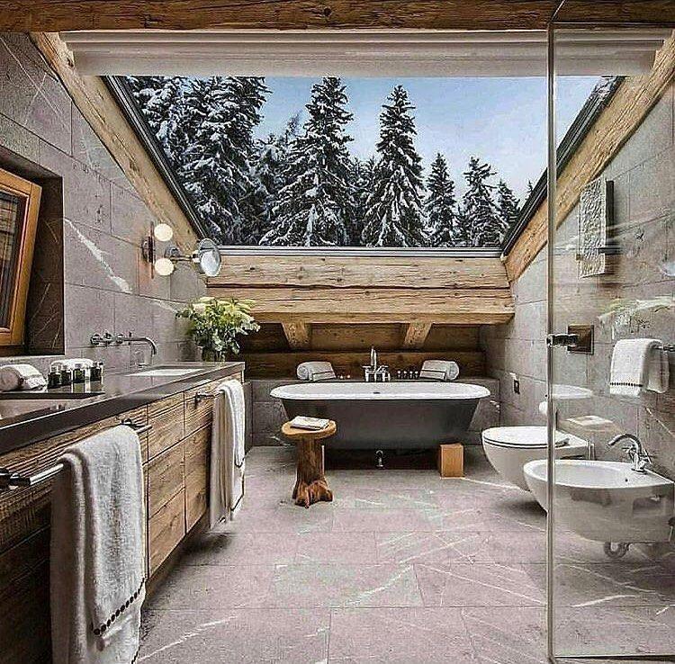 Bathroom goals? Tag your friends! Via loft_design_journal