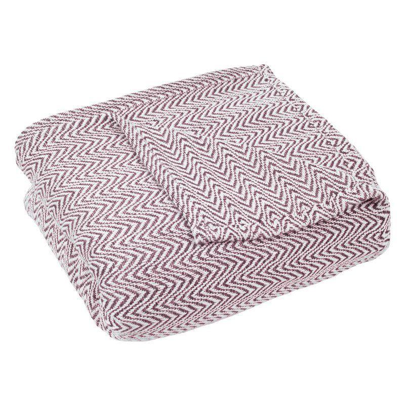 Luxury Soft Blanket by Lavish Home Burgundy - 61-88-FQ-BU