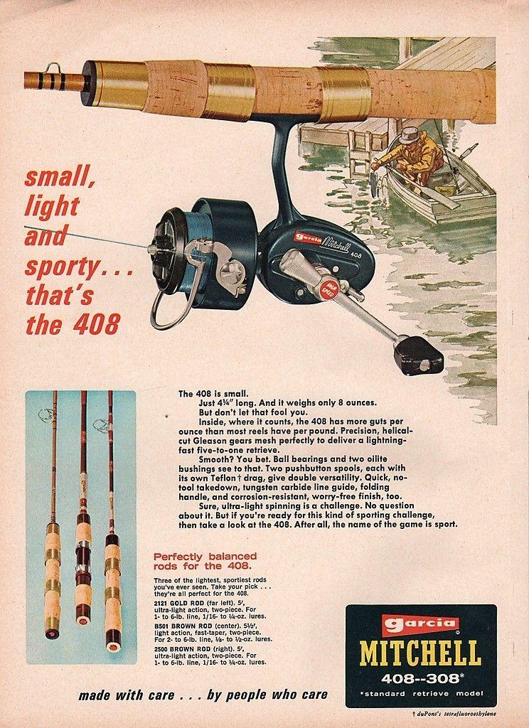 1968 Abu Garcia Mitchell 408 ad.