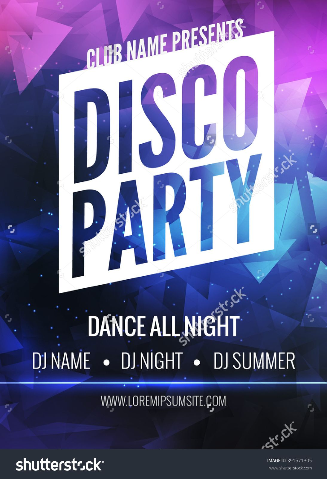 90s dance poster flyer google search 90 39 s music night for Poster template 90 x 120cm