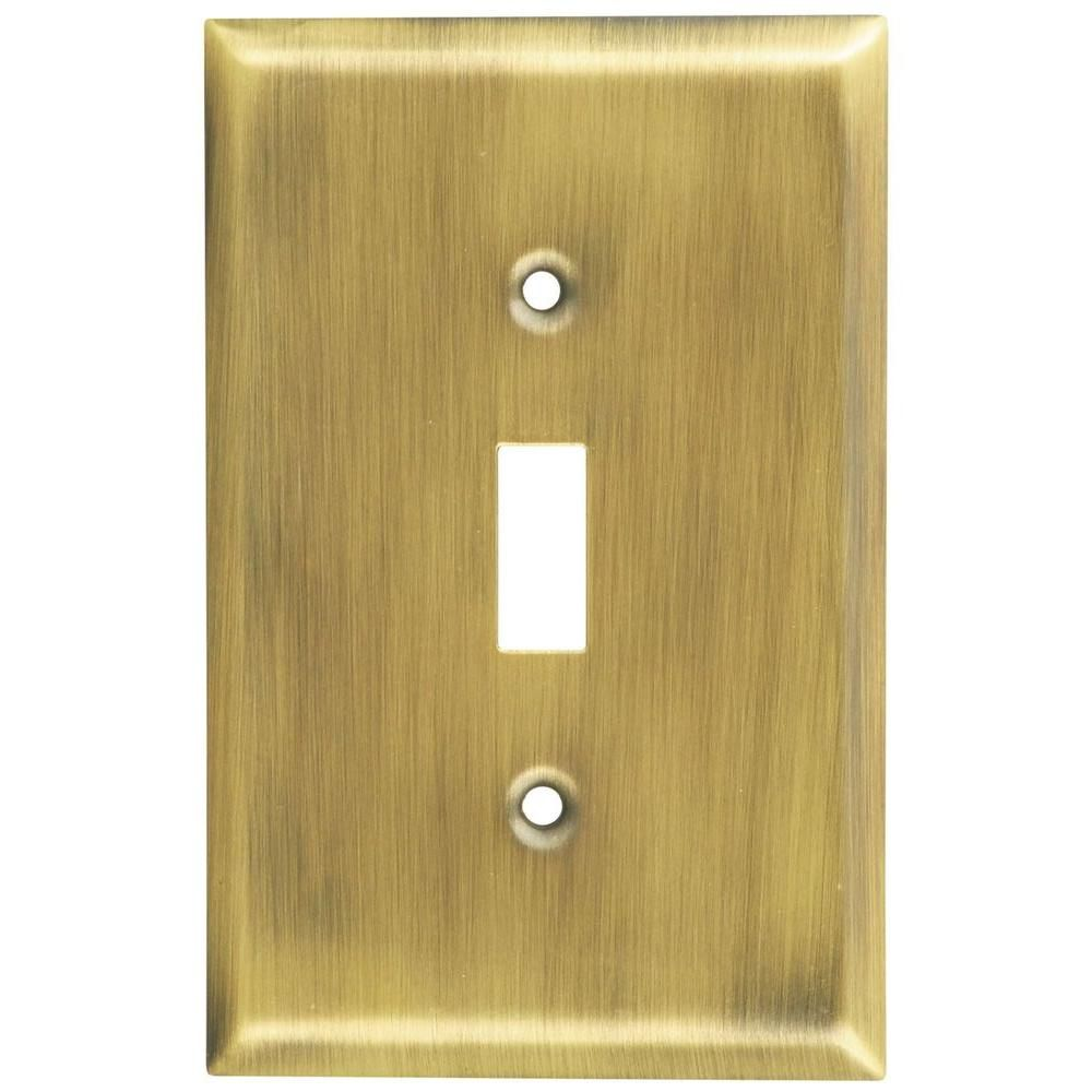 Antique Brass Wall Plates | Home Design Inspiration