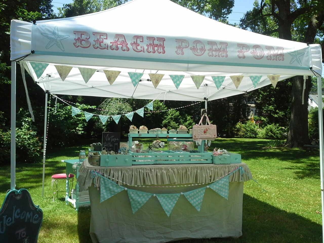 This Is My Craft Show Tent I Sell At Shows By The Beach