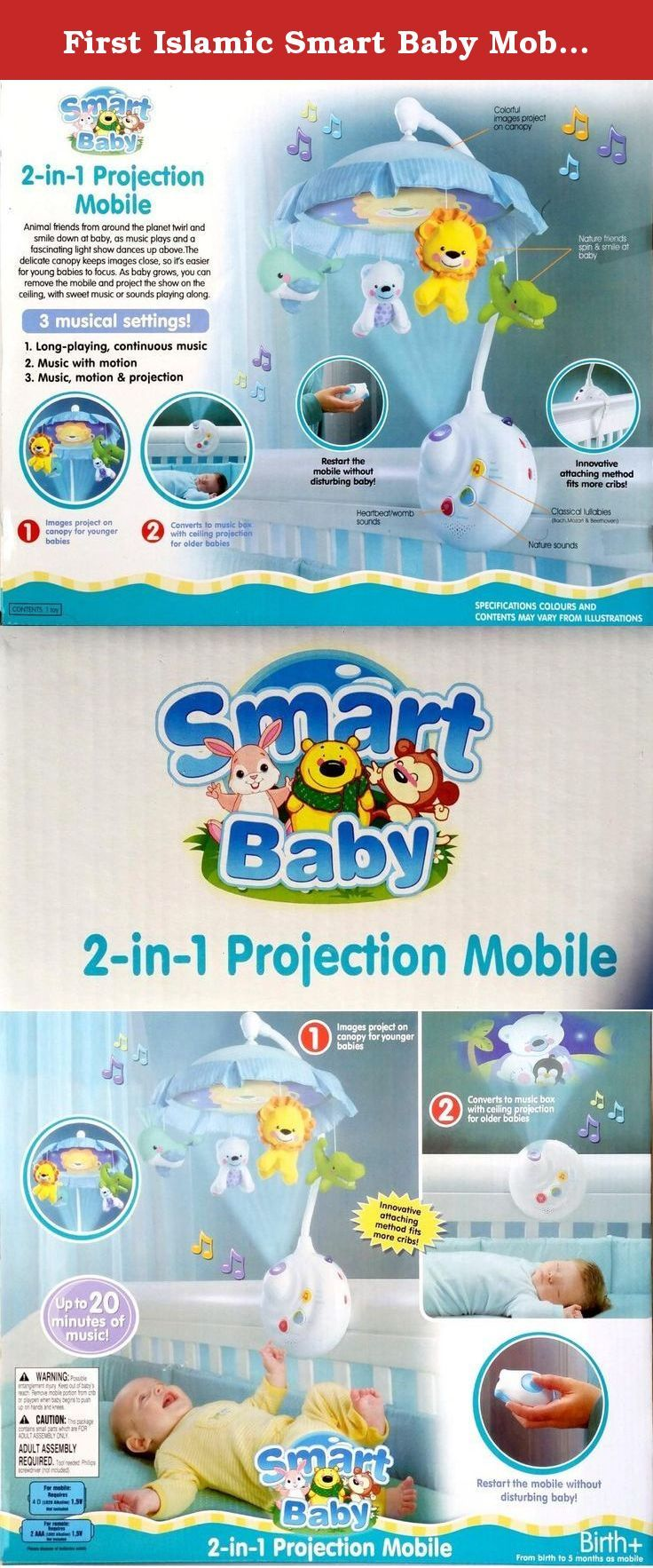 062765fd396d First Islamic Smart Baby Mobile Touch&learn - Plays Quran & Nashid (Arabic  & English)