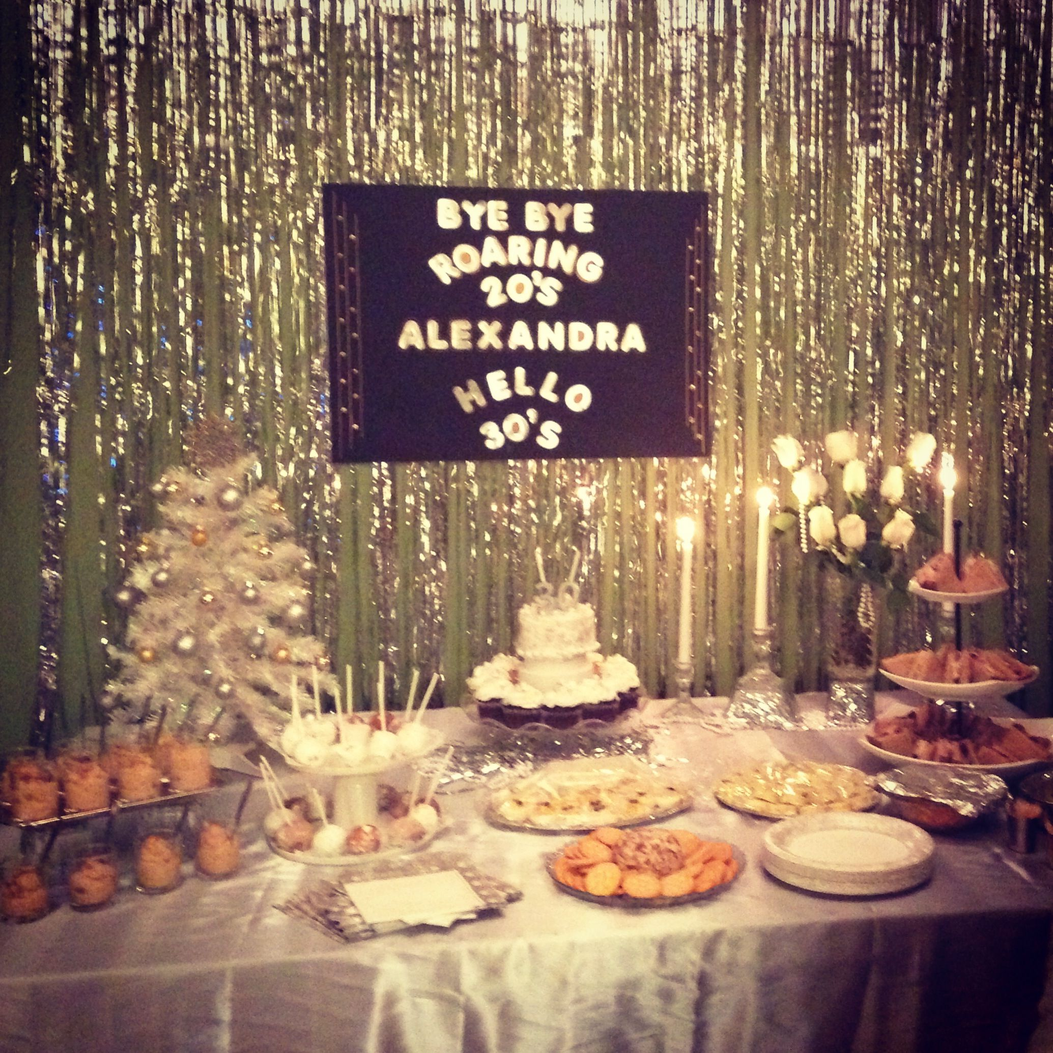 1920 S Party Gatsby 30th Party Decor By Me Decorations 1920