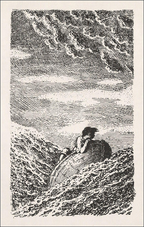 Mervyn Peake, A illa do Tesouro