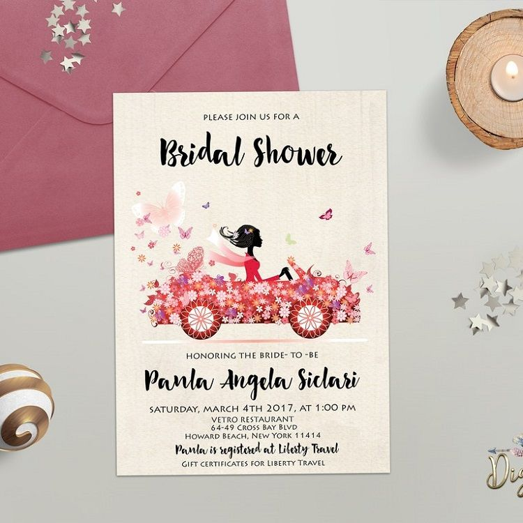 bridal shower invitation etiquette when to send