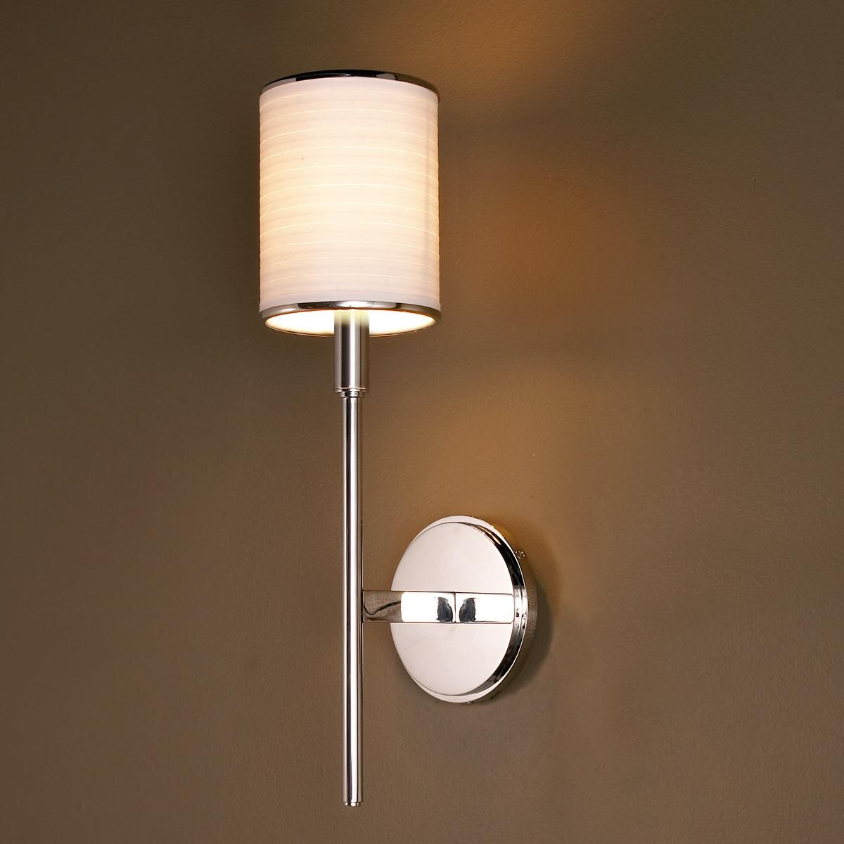 Modern pencil arm sconce with cylinder shade arms thin arms and modern pencil arm sconce with cylinder shade sconce lightingbathroom arubaitofo Images