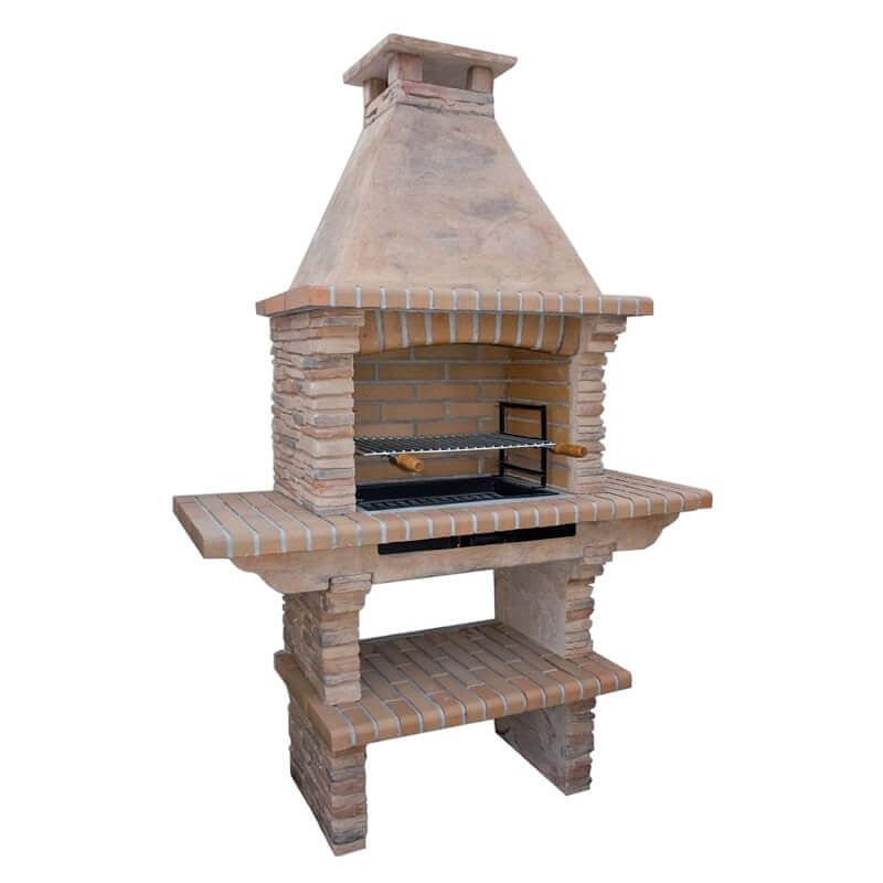 Buy Mediterrani Masonry Stone BBQ, Brick BBQ, Masonry Barbecue, Charcoal  Barbecue, Cast