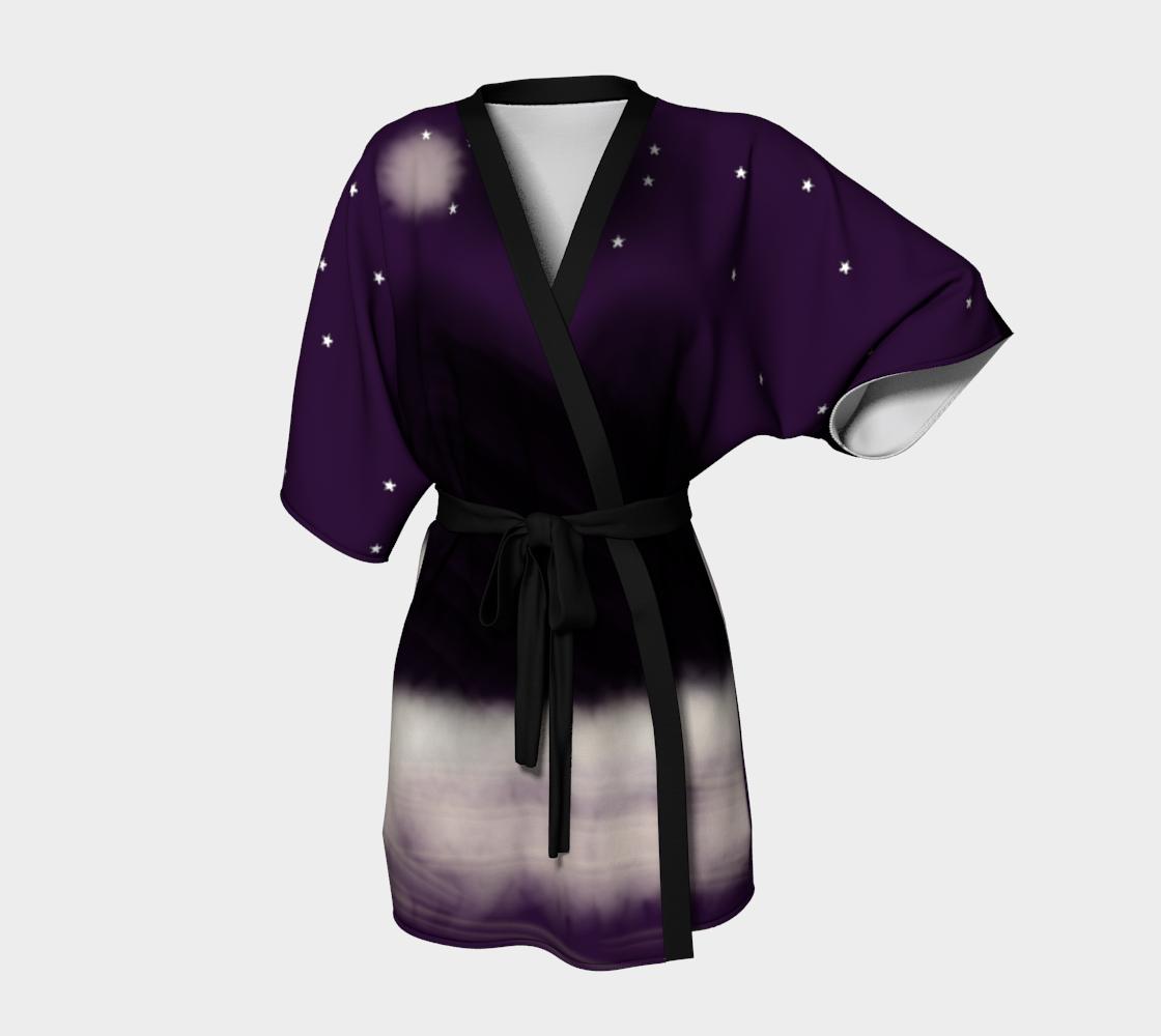"""Kimono+Robe+""""Midnight+""""+by+KEHLANI#art#kimono#robe#midnight"""