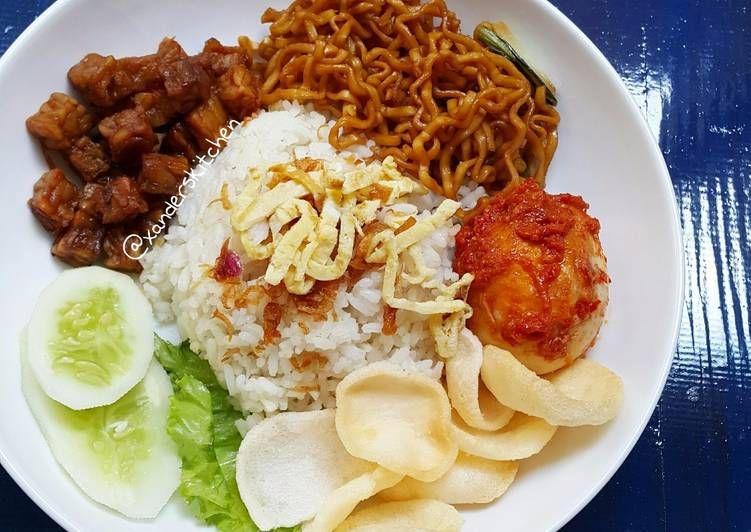 Resep Nasi Uduk Rice Cooker Oleh Xander S Kitchen Resep Resep Masakan Indonesia Masakan Resep Masakan