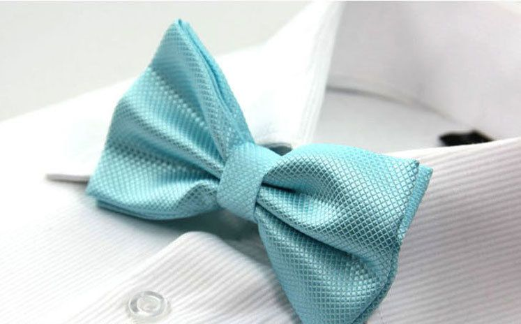 d5495ad2840 Tiffany Blue Silk Pre-Tied Adjustable Groomsmen Bow Ties Men Wedding  Accessory USD8 Please contact message me for purchase.