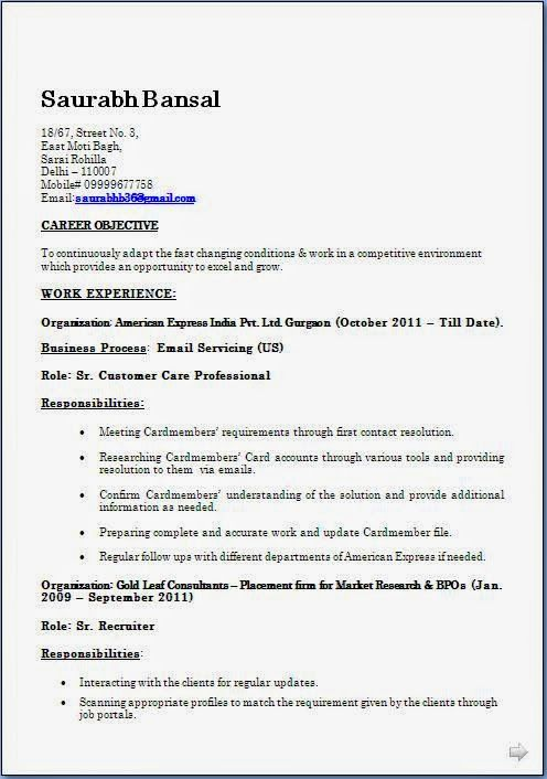 biodata format for job pdf Sample Template Example ofExcellent - resume in pdf format