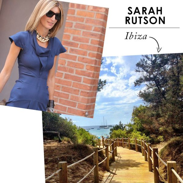 What Fashion Insiders Wear On Vacation   The Zoe Report