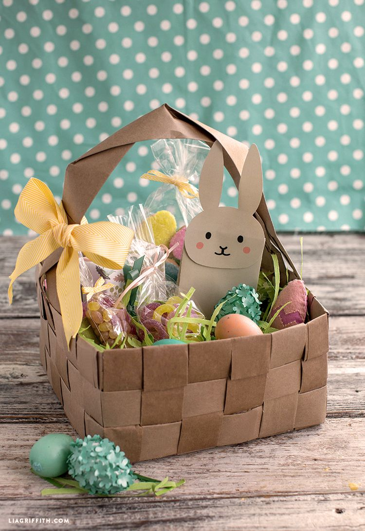 upcycled large diy easter basket | easter | pinterest | easter
