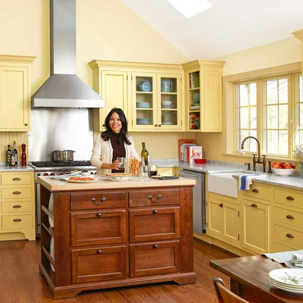 A Kitchen Goes From Bare Bones To Cottage Charming