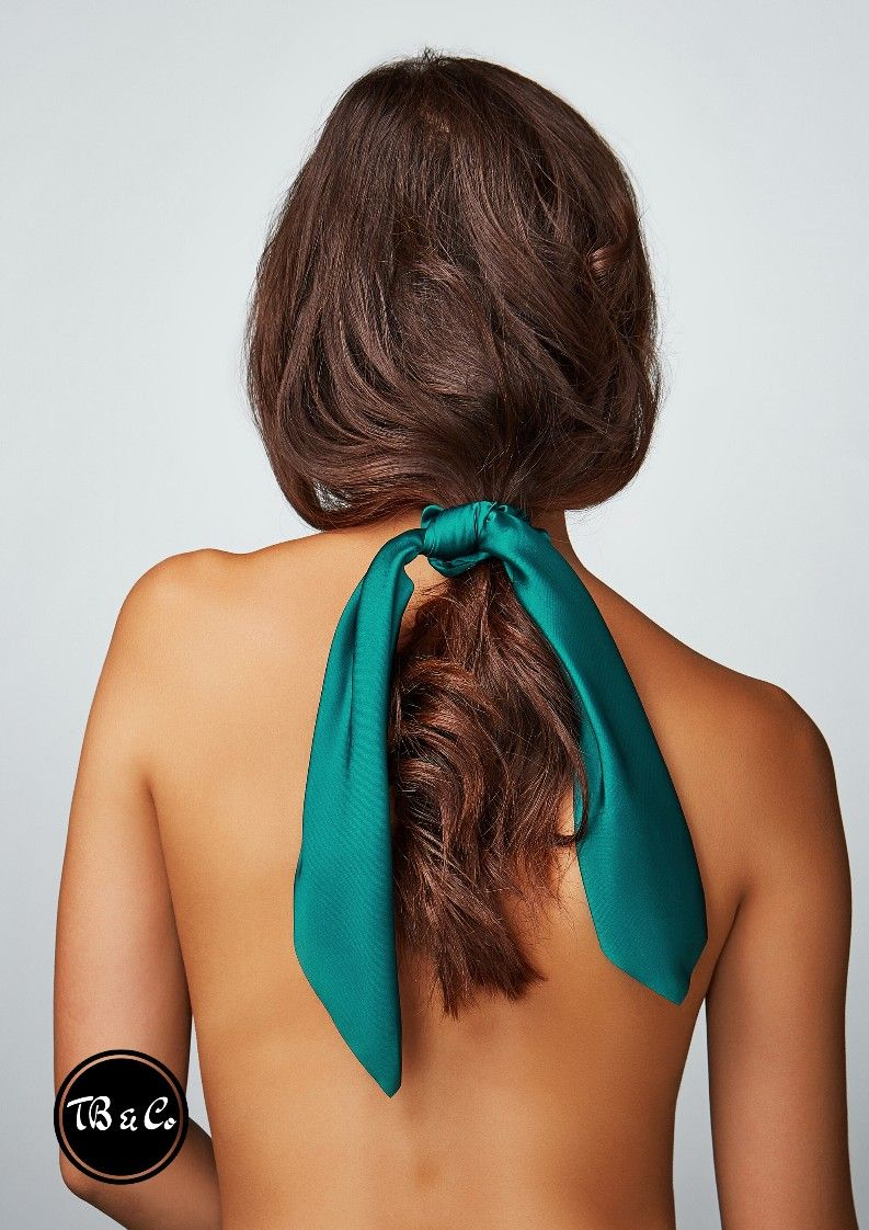 Épinglé sur Chouchou foulard uni