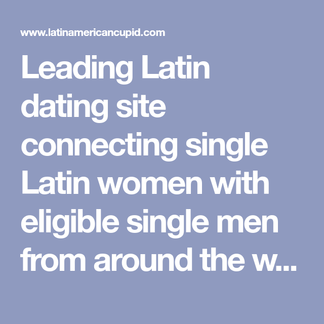 connecting singles dating site