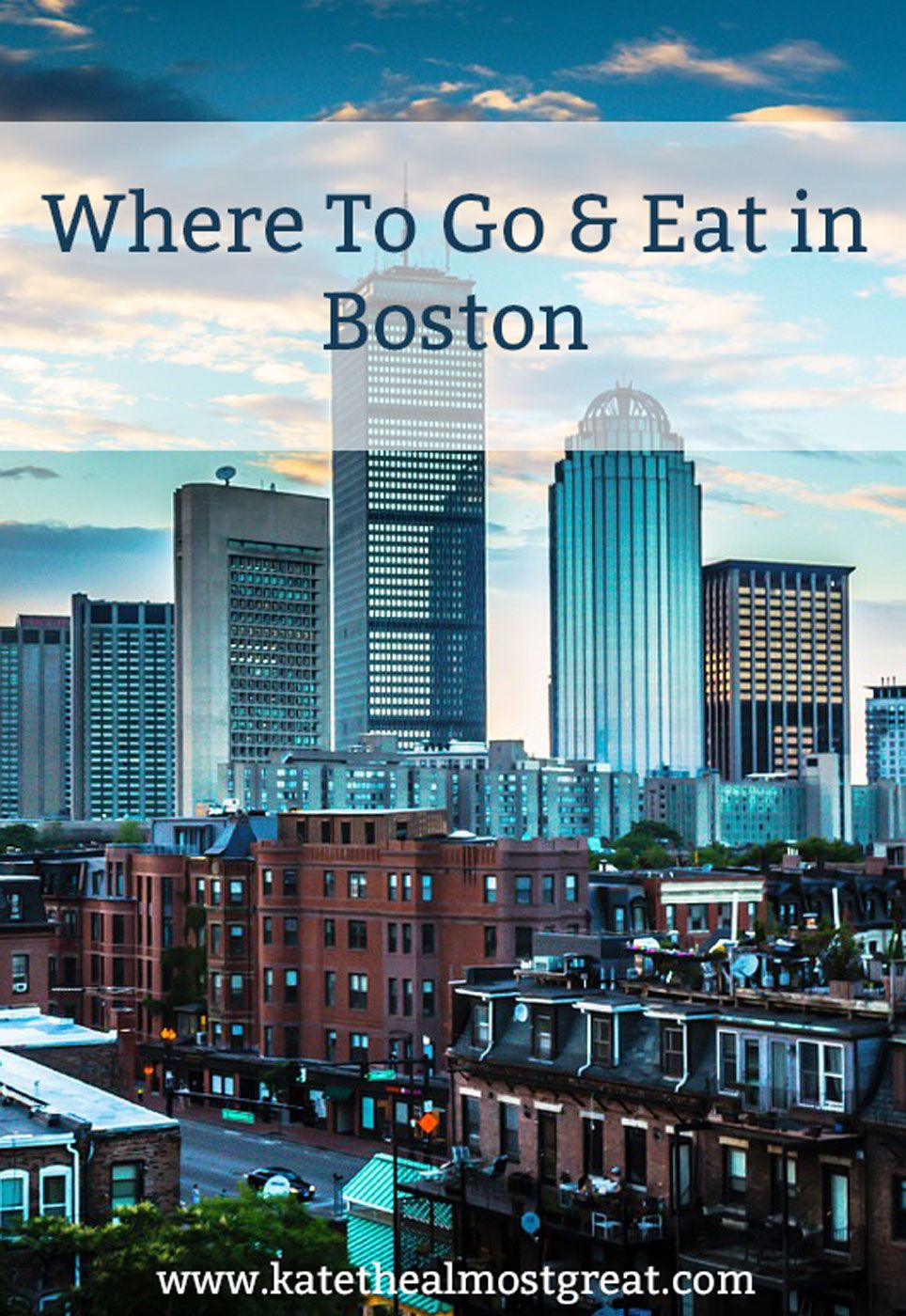 Best places to go out boston
