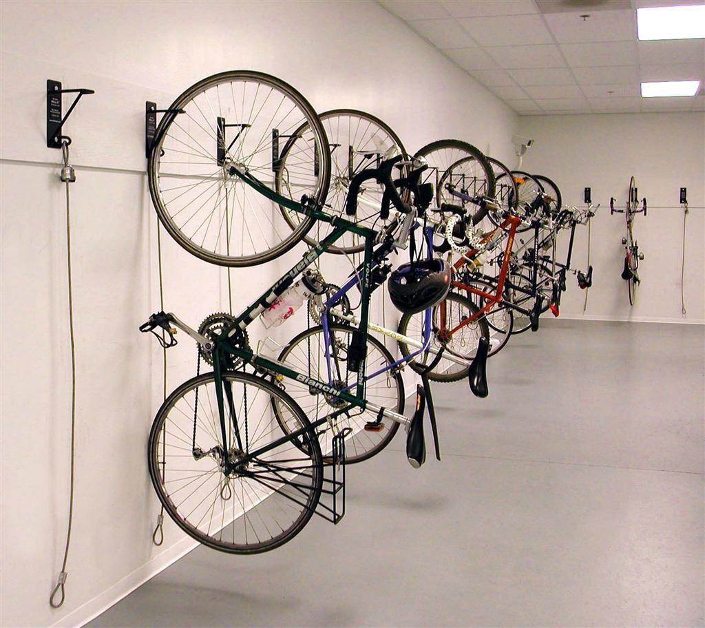 Bicycle Bike Wall Mount Hook Hanger Garage Storage Space Save Holder Stand LH