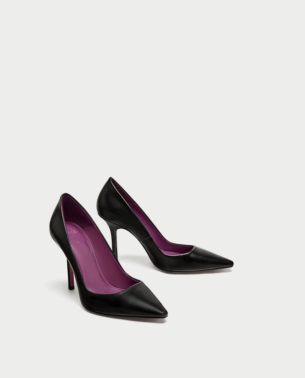 013a2491d9e HIGH HEEL LEATHER COURT SHOES - View all-SHOES AND BAGS-WOMAN