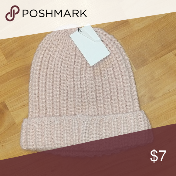 6717f17c1f4f0 5 for  5 🛍 pink beanie winter hat Knit pink beanie NWT. Forever ...