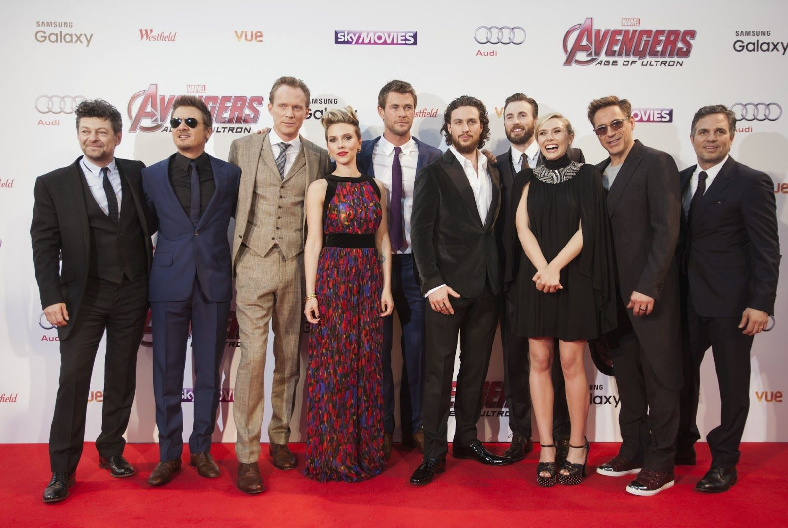 Marvel S Avengers Age Of Ultron London Red Carpet Photos Age Of Ultron Avengers Marvel Avengers