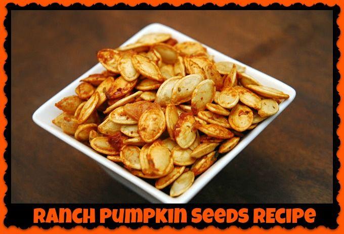 Ranch Pumpkin Seeds Recipe – Mama Bees Freebies