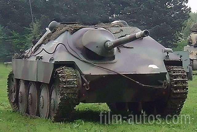 jagdpanzer 38 hetzer bild milit rfahrzeuge ww ii. Black Bedroom Furniture Sets. Home Design Ideas