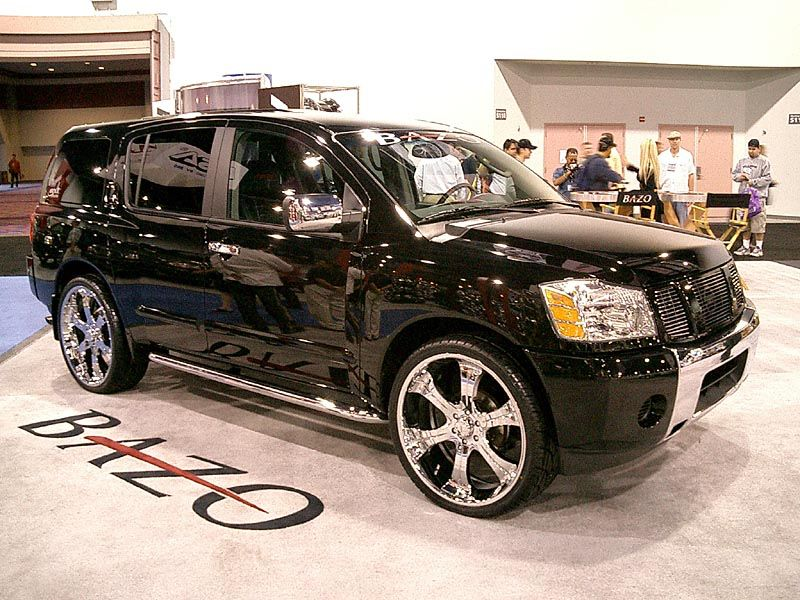Black With Chrome Armada Nissan Armada Accessories Vehicles