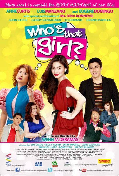 Whos That Girl Pinoy Movies All Movies Movie Tv Movies To Watch
