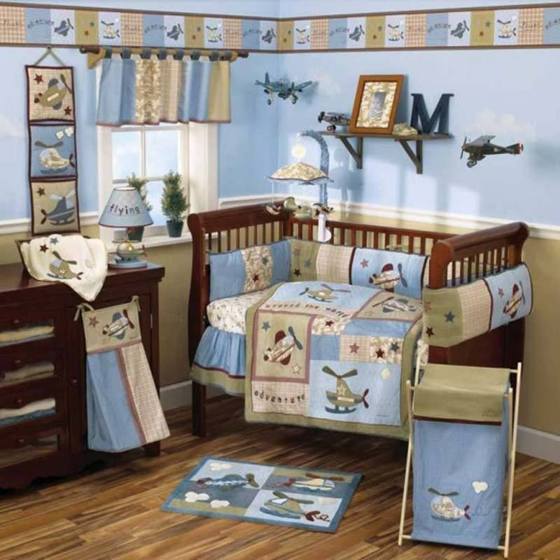 Baby Boy Bedroom Themes just an idea..here's an example of the blue and yellow | baby